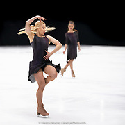 Ice Dance International performing After The Rain, Choreographed by Douglas Webster, in Dover, NH, March 2020