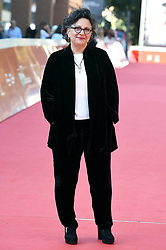 Director Roberta Grossman during the Who Will Write Our History red carpet in Rome on October 19, 2018