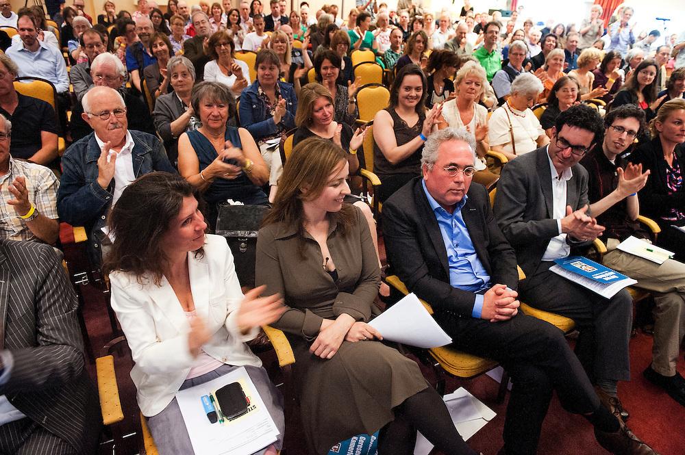 Nederland, Utrecht, 1 juli 2012.Partij voor de Dieren verkiezingscongres.Speech Marianne Thieme.. Foto (c): Michiel Wijnbergh