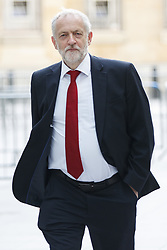 June 11, 2017 - London, London, UK - London, UK. Labour leader JEREMY CORBYN arrives at BBC Broadcasting House in London to appear on The Andrew Marr show on Sunday 11 June 2017. (Credit Image: © Tolga Akmen/London News Pictures via ZUMA Wire)