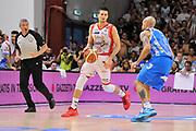 DESCRIZIONE : Campionato 2014/15 Serie A Beko Dinamo Banco di Sardegna Sassari - Grissin Bon Reggio Emilia Finale Playoff Gara4<br /> GIOCATORE : Andrea Cinciarini<br /> CATEGORIA : Palleggio Contropiede<br /> SQUADRA : Grissin Bon Reggio Emilia<br /> EVENTO : LegaBasket Serie A Beko 2014/2015<br /> GARA : Dinamo Banco di Sardegna Sassari - Grissin Bon Reggio Emilia Finale Playoff Gara4<br /> DATA : 20/06/2015<br /> SPORT : Pallacanestro <br /> AUTORE : Agenzia Ciamillo-Castoria/C.Atzori