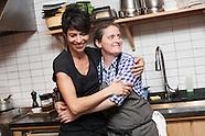 Chefs April Bloomfield & Dominique Crenn
