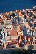 Stock photos of Arial view of Dubrovnik old town - Croatia
