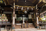 The Toyokawa Inari Betsuin temple in Asakusa, Tokyo, Japan. The Buddhist temple is part of the Soto Zen sect and enshrines the deity Toyokawa Dakinishinten but also known for the thousands of Inari Kitsune or fox goddess statues.
