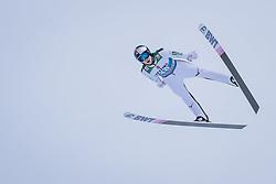 31.12.2020, Olympiaschanze, Garmisch Partenkirchen, GER, FIS Weltcup Skisprung, Vierschanzentournee, Garmisch Partenkirchen, Qualifikation, Herren, im Bild Martin Hamann (GER) // Martin Hamann of Germany during qualification jump of men's Four Hills Tournament of FIS Ski Jumping World Cup at the Olympiaschanze in Garmisch Partenkirchen, Germany on 2020/12/31. EXPA Pictures © 2020, PhotoCredit: EXPA/ JFK