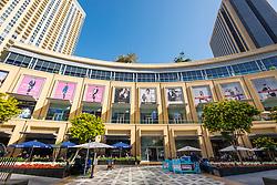 View of Marina Mall in Dubai United Arab Emirates