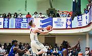 NORTH AUGUSTA, SC. July 10, 2019. Luke Kassubke 2020 #0 of MoKan Elite 17U at Nike Peach Jam in North Augusta, SC. <br /> NOTE TO USER: Mandatory Copyright Notice: Photo by Jon Lopez / Nike