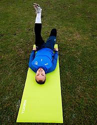 Marko Klemenčič of Bravo during first practice session of NK Bravo before the spring season of Prva liga Telekom Slovenije 2020/21, on January 5, 2021 in Sports park ZAK, Ljubljana Slovenia. Photo by Vid Ponikvar / Sportida