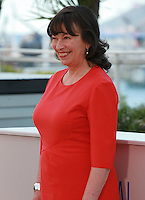 Marion Bailey at the photocall for the film Mr. Turner at the 67th Cannes Film Festival, Thursday 15th May 2014, Cannes, France.
