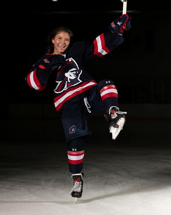 Janey Sandoval (Photo by Justin Berl/Robert Morris Athletics)