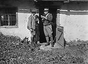 E.O. Hoppé and Another Man at Doorway, Hopfing, Austria, 1931