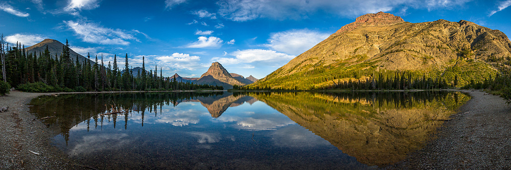 Two Medicine Lake Panorama 4