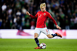 October 8, 2017 - Oslo, NORWAY - 171008  Birger Meling of Norway during the FIFA World Cup Qualifier match between Norway and Northern Ireland on October 8, 2017 in Oslo..Photo: Vegard Wivestad Grøtt / BILDBYRÃ…N / kod VG / 170029 (Credit Image: © Vegard Wivestad GrØTt/Bildbyran via ZUMA Wire)