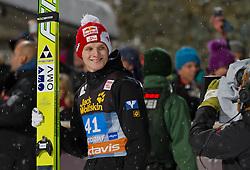 30.12.2011, Schattenbergschanze / Erdinger Arena, GER, Vierschanzentournee, FIS Weldcup, Ski Springen, im Bild Thomas Morgenstern (AUT, 3. Platz) // Thomas Morgenstern of Austria  thirt place during of FIS World Cup Ski Jumping in Oberstdorf, Germany on 2011/12/30. EXPA Pictures © 2011, PhotoCredit: EXPA/ P.Rinderer