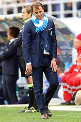 """Foto Filippo Rubin<br /> 26/03/2017 Ferrara (Italia)<br /> Sport Calcio<br /> Spal vs Frosinone - Campionato di calcio Serie B ConTe.it 2016/2017 - Stadio """"Paolo Mazza""""<br /> Nella foto: LEONARDO SEMPLICI DELUSO<br /> <br /> Photo Filippo Rubin<br /> March 26, 2017 Ferrara (Italy)<br /> Sport Soccer<br /> Spal vs Frosinone - Italian Football Championship League B ConTe.it 2016/2017 - """"Paolo Mazza"""" Stadium <br /> In the pic: LEONARDO SEMPLICI"""