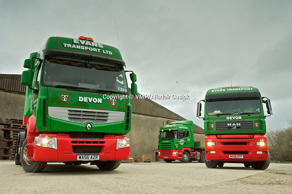 2006, MAN TGA, Renault 440, Scania 480, Barnstaple, UK