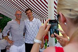 Goran Dragic at Anze's Eleven and Triglav Charity Golf Tournament, on June 30, 2012 in Golf court Bled, Slovenia. (Photo by Matic Klansek Velej / Sportida)