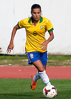 Fifa Womans World Cup Canada 2015 - Preview //<br /> Algarve Cup 2015 Tournament ( Municipal Stadium - Albufeira , Portugal ) - <br /> Brazil vs China 0-0 - Thaisa de Moraes Rosa Moreno of Brazil