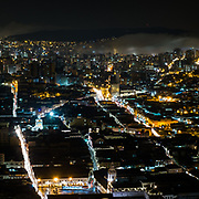 Quito nightview.