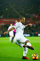 Football - 2016 / 2017 Premier League - Swansea City vs. Stoke City<br /> <br /> Wayne Routledge of Swansea passes the ball —, at The Liberty Stadium.<br /> <br /> COLORSPORT/WINSTON BYNORTH