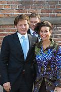 Zijne Hoogheid Prins Floris van Oranje Nassau, van Vollenhoven en mevrouw mr. A.L.A.M. Söhngen zijn donderdag 20 oktober in het stadhuis van Naarden in het burgelijk huwelijk getreden. De prins is de jongste zoon van Prinses Magriet en Pieter van Vollenhoven.<br /> <br /> 20OCT, 2005 - Civil Wedding Prince Floris and Aimée Söhngen. <br /> <br /> Civil Wedding Prince Floris and Aimée Söhngen in Naarden. The Prince is the youngest son of Princess Margriet, Queen Beatrix's sister, and Pieter van Vollenhoven. <br /> <br /> Op de foto / On the photo;<br /> <br /> <br /> Zijne Hoogheid Prins Pieter-Christiaan van Orjanje-Nassau, van Vollenhoven en Hare Hoogheid Prinses Anita van Oranje-Nassau, van Vollenhoven<br /> <br /> His highness prince Pieter-Christiaan van Orjanje-Nassau, of Vollenhoven and her highness princess Anita van Oranje-Nassau, of Vollenhoven