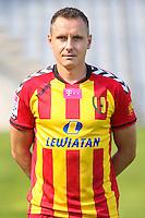 08.07.2014 Kielce Sesja zdjeciowa Korony Kielce na sezon 2014/2015 N/z Pawel Golanski fot. Patryk Ptak