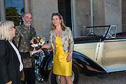 ZARA DELANEY; ALEXANDER CRESWELL; MARY CRESSWELL;Opening of Grange Park Opera, Fiddler on the Roof, Grange Park Opera, Bishop's Sutton, <br /> Alresford, 4 June 2015