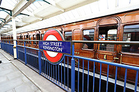 Steam on the Underground – District 150, District Line 150th Anniversary, High Street Kensington Tube Station, London, UK, 23 June 2019, Photo by Richard Goldschmidt