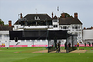 General view of the pavilion before the Vitality T20 Blast North Group match between Nottinghamshire County Cricket Club and Leicestershire County Cricket Club at Trent Bridge, Nottingham, United Kingdom on 4 September 2020.