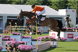 Greeve Michael, (NED), Whitney BB<br /> Furusiyya FEI Nations CupTM presented by Longines<br /> CSIO Sankt Gallen 2015<br /> © Hippo Foto - Stefano Secchi<br /> 05/06/15