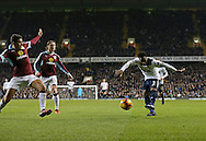Tottenham's Danny Rose scoring his sides opening goal during the Premier League match at White Hart Lane Stadium, London. Picture date December 18th, 2016 Pic David Klein/Sportimage