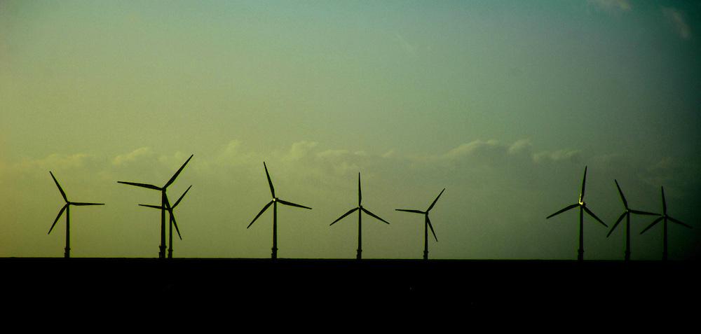 Windfarm in Liverpool Bay