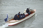 """Hammersmith, London. 2002 Varsity Boat Race, 26/3/2002, Tideway Week,  """"Majestic"""",  Chas NEWANS, Boat. during a training session on the Championship Course, River Thames, England.  [Mandatory Credit; Peter Spurrier / Intersport Images ] 20020327 University Boat Race, [Varsity],  Tideway Week. Putney. London"""
