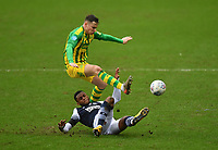 Football - 2019 / 2020 Sky Bet (EFL) Championship - Millwall vs. West Bromwich Albion<br /> <br /> Millwall's Mahlon Romeo battles for possession with West Bromwich Albion's Conor Townsend, at The Den.<br /> <br /> COLORSPORT/ASHLEY WESTERN