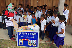 Sophary With Students & School Supplies