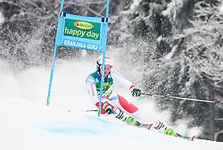 Elia Zurbriggen of Switzerland competes during 1st run of Men's GiantSlalom race of FIS Alpine Ski World Cup 57th Vitranc Cup 2018, on March 3, 2018 in Kranjska Gora, Slovenia. Photo by Ziga Zupan / Sportida