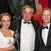 NLD/Amsterdam/20161221 - NOC*NSF Sportgala 2016, Lieke en haar vader