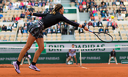 May 30, 2019 - Paris, FRANCE - Victoria Azarenka of Belarus in action during her second-round match at the 2019 Roland Garros Grand Slam tennis tournament (Credit Image: © AFP7 via ZUMA Wire)