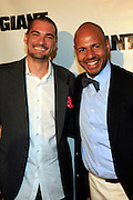 Smokey Fountaine and Emil Wilbekin at The Giant Magazine Party, celebrating cover girl Kimora Lee Simmons and new Editor-in-Chief Emil Wilbekin, the award-winning editor as he unveils his debut issue.