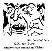 The Sound of Fury ; Anonymous American Citizen