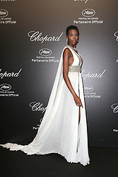 """""""Love"""" party Chopard in Cannes 2019.. Pictures: Laurent Guerin / EliotPress Set ID: 600942. 17 May 2019 Pictured: Maria Borges. """"Love"""" party Chopard in Cannes 2019.. Pictures: Laurent Guerin / EliotPress Set ID: 600942. Photo credit: Eliot Press / ELIOTPRESS / MEGA TheMegaAgency.com +1 888 505 6342"""