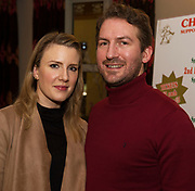 Clyde and Michelle Stephenson at the  Irish Guide Dogs for the Blinds Annual Christmas Raffle at the Menlo Park Hotel . Photo:Andrew Downes