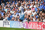 Coventry City Forward, Jordy Hiwula (11) goal scorer during the EFL Sky Bet League 1 match between Portsmouth and Coventry City at Fratton Park, Portsmouth, England on 22 April 2019.