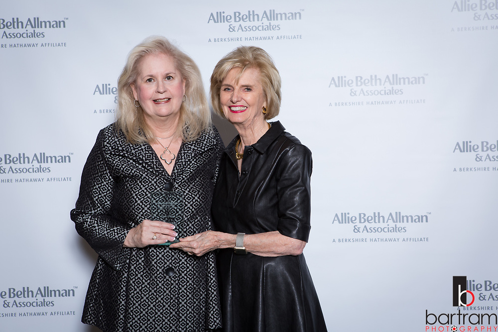 Allie Beth Allman top producer awards at the Dallas Country Club on Thursday, Feb. 15, 2018. (Photo by Kevin Bartram)