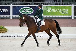 Kate Kerr Horan, (IRL), Arlande - Team Competition Grade II Para Dressage - Alltech FEI World Equestrian Games™ 2014 - Normandy, France.<br /> © Hippo Foto Team - Jon Stroud <br /> 25/06/14