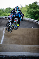 #217 (LUI HIN TSAN Tatyan) FRA at Round 5 of the 2019 UCI BMX Supercross World Cup in Saint-Quentin-En-Yvelines, France