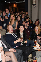 Left to right, ALFIE ALLEN, JAIME WINSTONE and TOM ELLIS at the Old Vic 24 Hour Plays Celebrity Gala held at the Rosewood Hotel, 252 High Holborn, London on 24th November 2013.