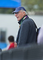 LONDON -  Unibet Eurohockey Championships 2015 in  London.Journalist Patrick Rowley.  Copyright  KOEN SUYK