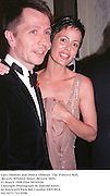 Gary Oldman and Donya Oldman. The Princess Ball, Beverly Wilshire Hotel. Beverly Hills. 21 March 1998 Film 98183f20<br />Copyright Photograph by Dafydd Jones. 66 Stockwell Park Rd. London SW9 0DA<br />Tel. 0171 733 0108