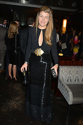 AMBER NUTTALL at the OMEGA VIP dinner hosted by Cindy Crawford and OMEGA President Mr. Stephen Urquhart held at aqua shard', Level 31, The Shard, 31 St Thomas Street, London, SE1 9RY on 10th December 2014.